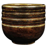 Amaco Potter's Choice Glaze PC-62 Textured Amber Brown
