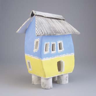Photo of ceramic house