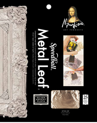 Composition Silver Leaf Package - 25 Sheets