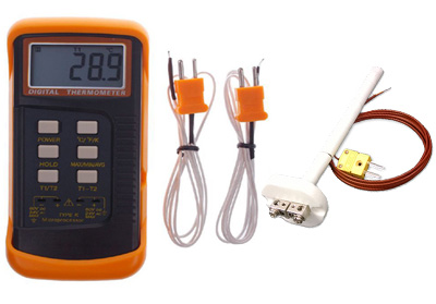 6802II Dual-Input Digital Handheld Pyrometer Package