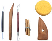 6 Piece Pottery Tool Kit
