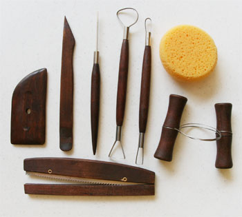 &nbsp;Essential Potter's Artisan Tool Set 8 pc
