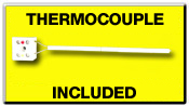 Free Thermocouple With Purchase of Pyrometer!