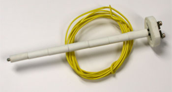8 Inch Type K TC TCK-1 Thermocouple with 6ft of wire