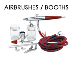 Airbrushes and Booths