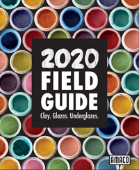 Amaco Field Guide to Clay, Glaze and Underglaze Catalog