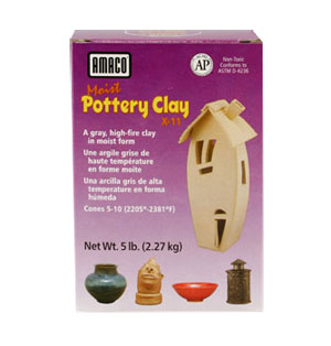 AMACO Moist Pottery Clay