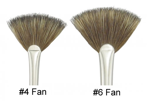 Amaco Fitch Fan Brushes