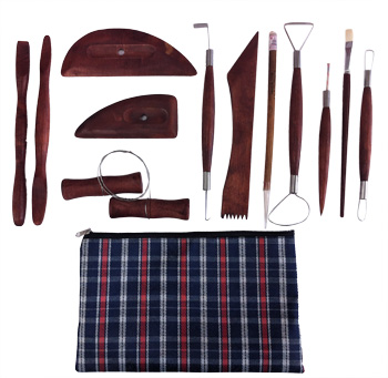 Potter's Assortment 14pc w/ Plaid Bag