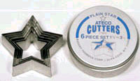 Ateco Plain Star Cutter Set