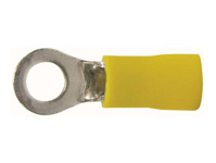 AWG 12-10 Yellow Terminal Ring
