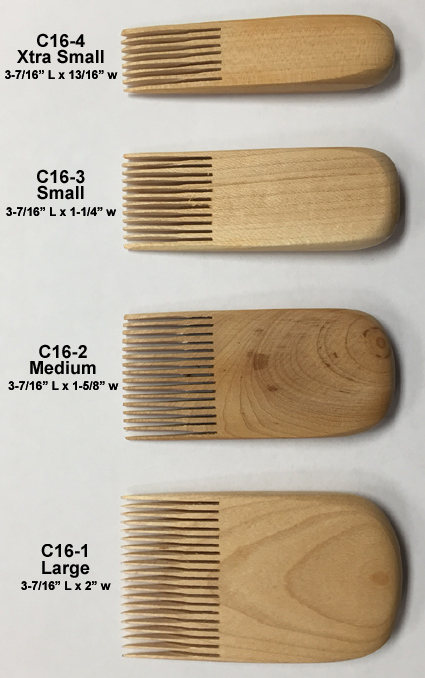 Pottery Comb Tools