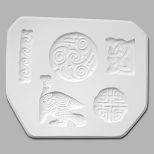 Mayco Mold CD-1217 Celtic - 5 designs