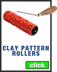 Clay Pattern Rollers on Sale Today