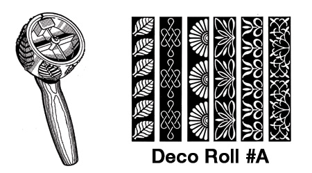 Deco Roll #A