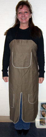 Potter's Doo Woo Throwing Apron