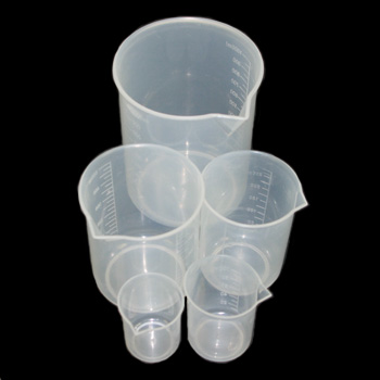 Plastic Glaze Measuring Beakers