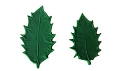 Large Holly Leaf Pattern Set 3.5/3 inch