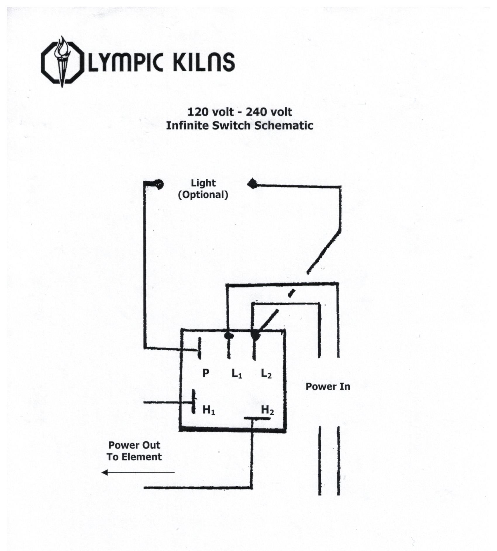 infinite switch best olympic kiln replacement elements clay king com olympic 2327 kiln wiring diagram at mifinder.co