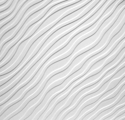 Amaco TM-4 Sandwaves Texture Plate - Scratch and Dent