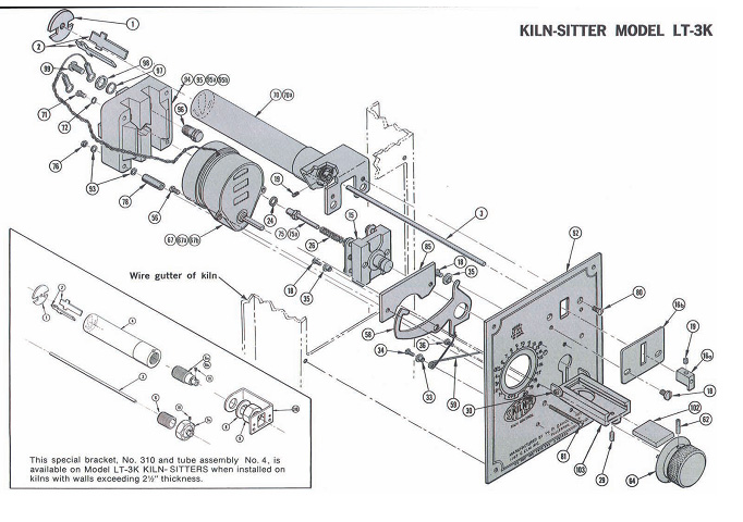 kiln_sitter_lt3k kiln sitter parts and accessories at best price clay king com olympic 2327 kiln wiring diagram at mifinder.co