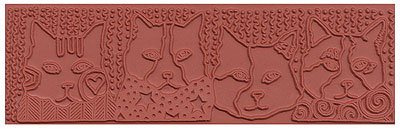Mayco ST-374 Design Cats Stamp
