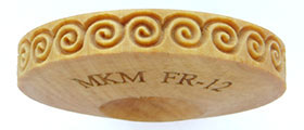 MKM FingerRoller FR-12 Greek Key- Round