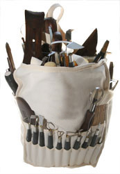 Stool Canvas Bag Clay King Tools