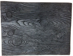 Wood Grain Rubber Texture Mat