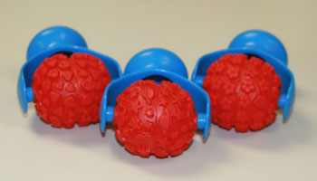 PC-U16875 Ball Shaped Roller Set of 3