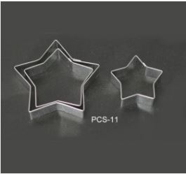 PCS11 Star Cutter Set - 3 pieces
