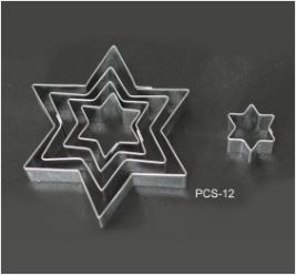 PCS12 Star Cutter Set - 5 pieces