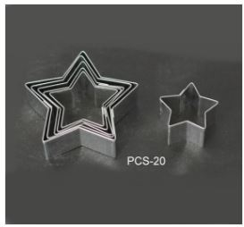 PCS20 Star Cutter Set - 6 pieces