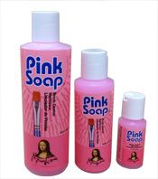 Pink Soap by Speedball