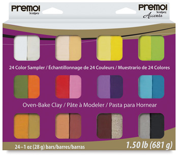 Premo Sculpey Multipack Sampler 24 1oz