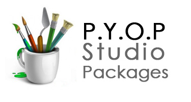 Paint Your Own Pottery Studio Packages