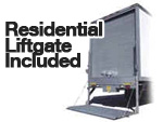 Residentual Liftgate Included