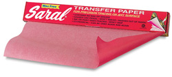 Saral Transfer Paper - Red
