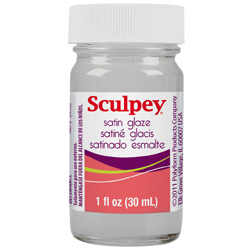 Sculpey Glaze Satin 1oz