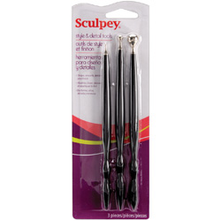 Sculpey Style and Detail Tools 3pc Set