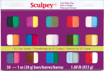Sculpey III Sampler Multipack 30 1oz