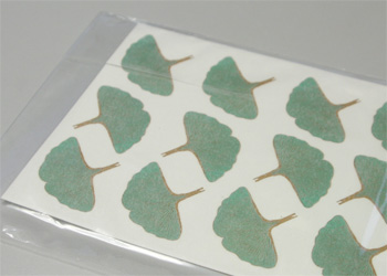 Milestone Decal Art 2 Color Gingko Decals - Scratch and Dent
