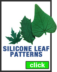 Silicone Leaf Patterns