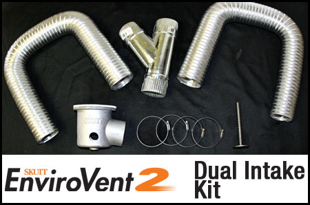Skutt Dual Intake Kit for Envirovent