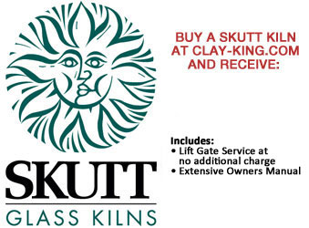 Skutt Glass Fusing Kilns - $149 Flat Rate Shipping Special