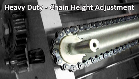Heavy Duty - Chain Adjustment