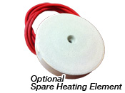 Optional Spare Heating Element for Ultra Lite Beehive kiln