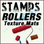 Pottery Stamps and Glaze Rollers - Click Here