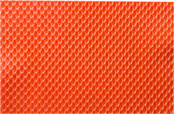 Orange Dragon Scales Rubber Texture Mat