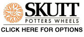 Click Here to Find Optional Accessories for Skutt/ Thomas Stuart Pottery Wheels